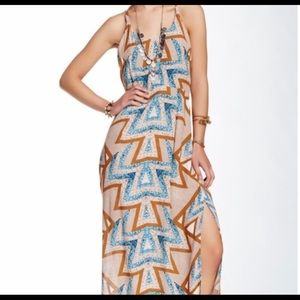 FREE PEOPLE maxi dress / only worn once .